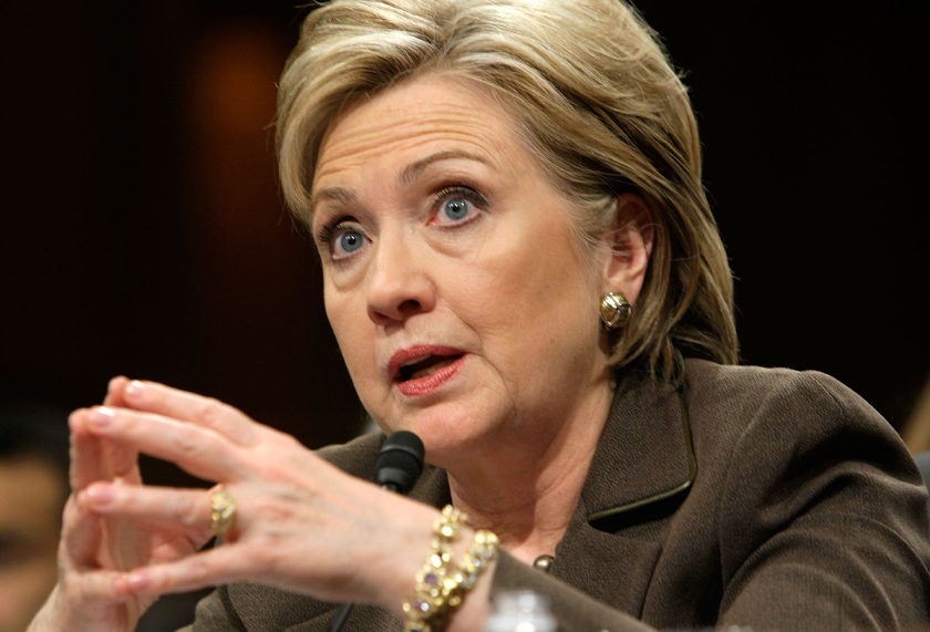 Hillary Clinton Testifies At Senate Confirmation Hearing