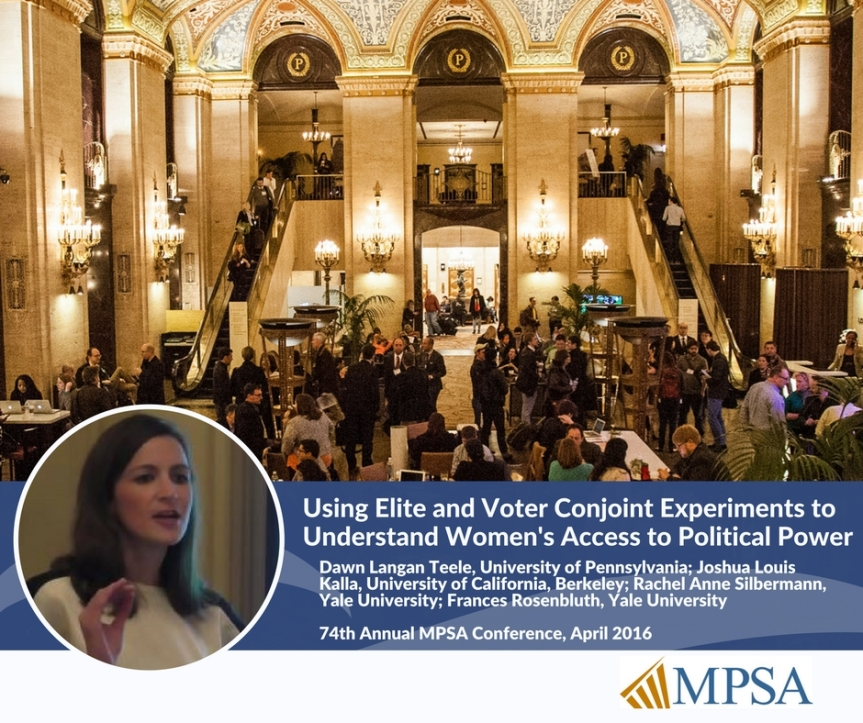 Bias and Women's Under-Representation inPolitics