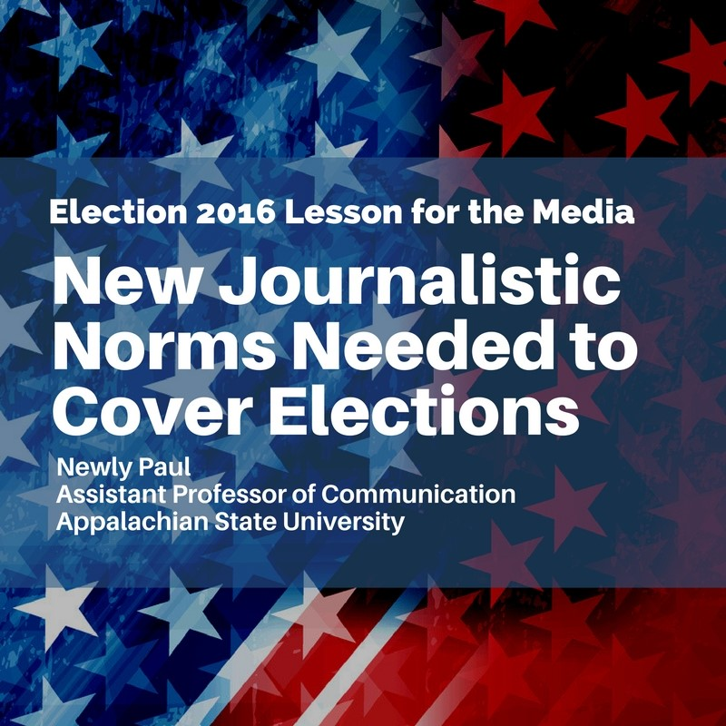 MPSA blog - New Journalistic Norms Needed to Cover Elections