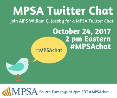 Fourth Tuesdays at 2pm EDT #MPSAchat1