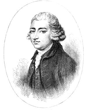 Edmund Burke Engraving